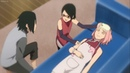 Sarada Family : Sakura shocked to see Sasuke, Boruto Learn how to use Rasengan