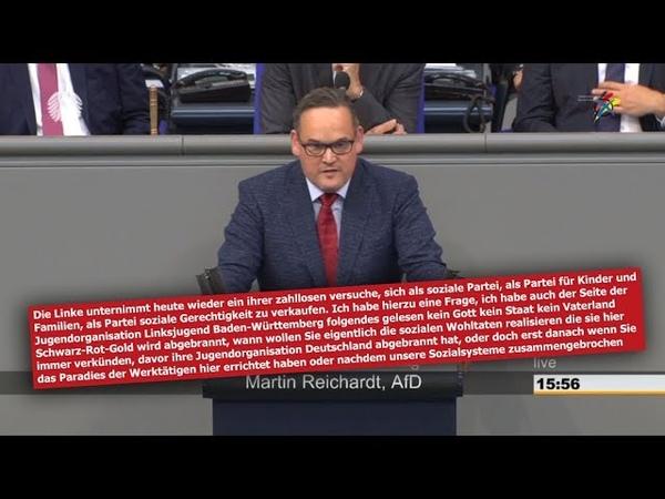 Knaller Rede Herr Martin Reichardt, die AfD steht zu Deutschland Kinder und Familie! weiter so!