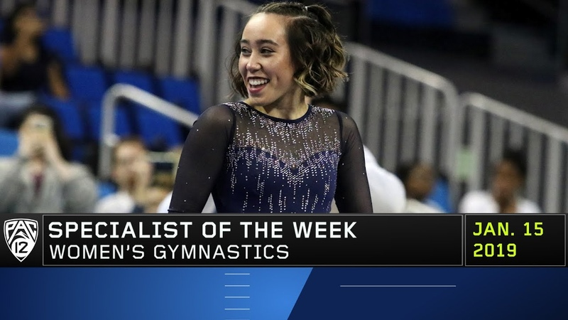 Katelyn Ohashi's jaw-dropping, viral floor routine nets her Pac-12 Women's Gymnastics Specialist...