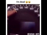 car goes at very high speed