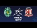 UEFA Futsal Champions League Grupo C Jornada 1 Sporting CP 4-0 Sibiryak