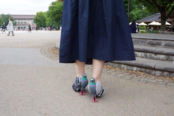 Кейко Оцухата сделала туфли в виде голубей и опубликовала инструкцию, как создать такие же