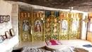 Крым Пещерный монастырь Саввы Освящённого Челтер Мармара Crimea Russia