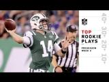 Top Rookie Plays of Preseason Wk 3 - NFL 2018 Highlights