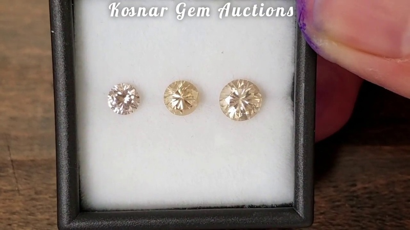 Fantastic Tanzanian Zircon Gemstone Set from KGC
