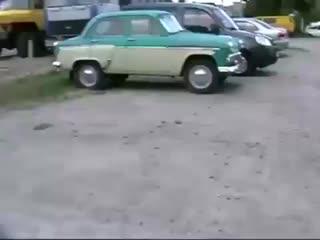 За рулем Москвича 407 1961 гв.