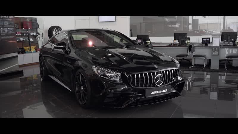 Тизер космическая пушка Mercedes Benz AMG S63 Coupe