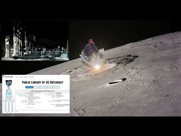 SECRET MOON BASE USA HAD DESTROYED Wikileaks Cable Confirms!