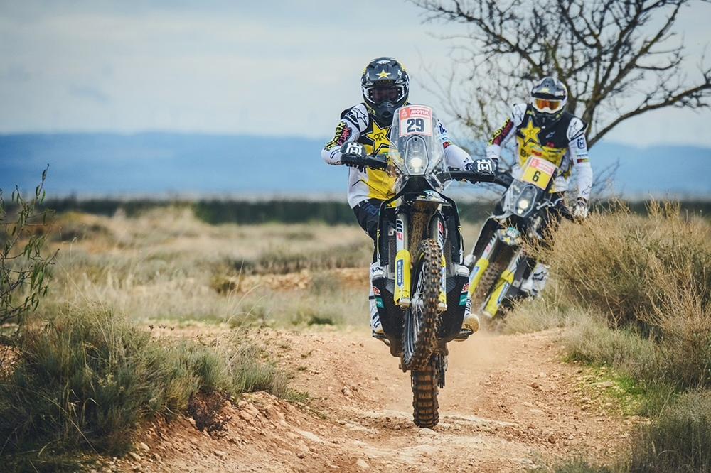 Дакар 2019: команда Rockstar Energy Husqvarna Factory Racing (видео)