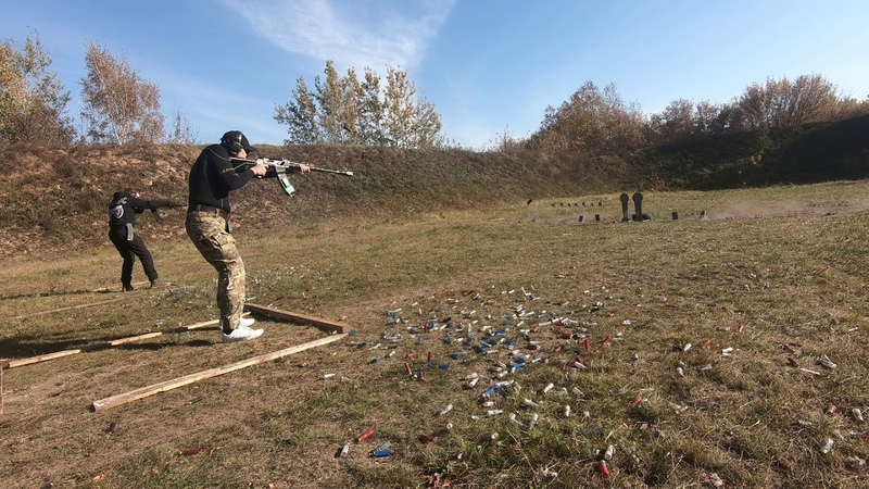 Дуэльная стрельба Гурский Журавлев (квалификация)
