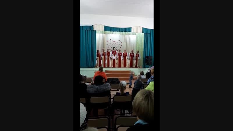 Вокальный коллектив Рябинушка песня Мама, живи