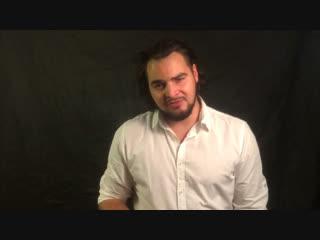 Видеовизитка. Актёр Никита Антипов