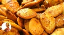 ВКУСНО! ПРЯНЫЕ Тыквенные семечки с чесноком, перцем и солью Готовить просто с Люсьеной