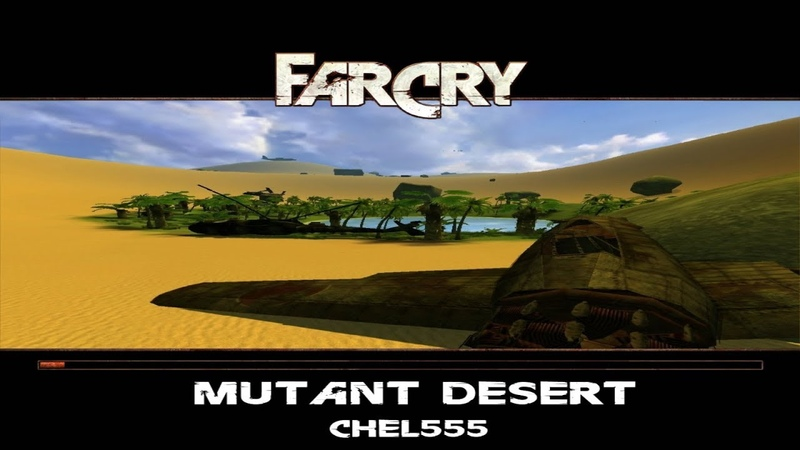 Прохождение игры Far cry. Mutant desert. 2 Жара в пустыне.