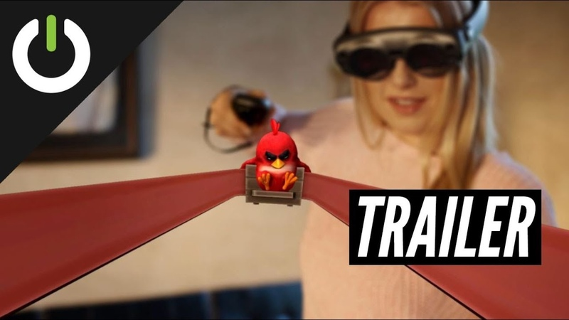Angry Birds FPS: First Person Slingshot Trailer (Resolution Games) - Magic Leap One