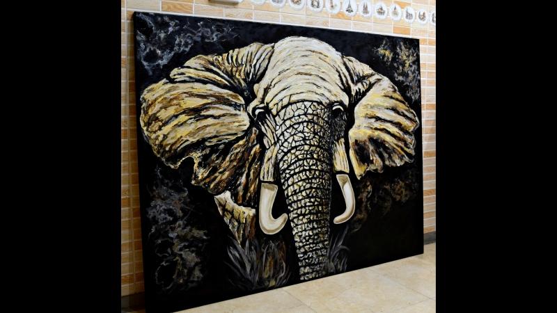 Моя картина в Грумминг центре для домашних любимцев
