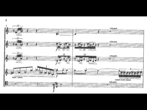 György Kurtág - Wind Quintet, Op.2 (1959) [Score-Video]
