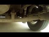 Dodge caravan V6 3.3 Задняя подвеска в движении.