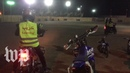 Women in Saudi Arabia ride motorcycles for the first time