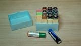 Контейнер для пальчиковых батареек