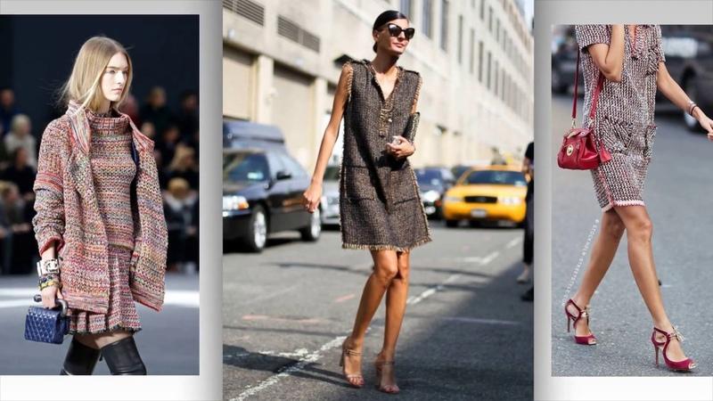 Pletena moda.Стильные вязаные модели от Коко Шанель.Роскошная простота.