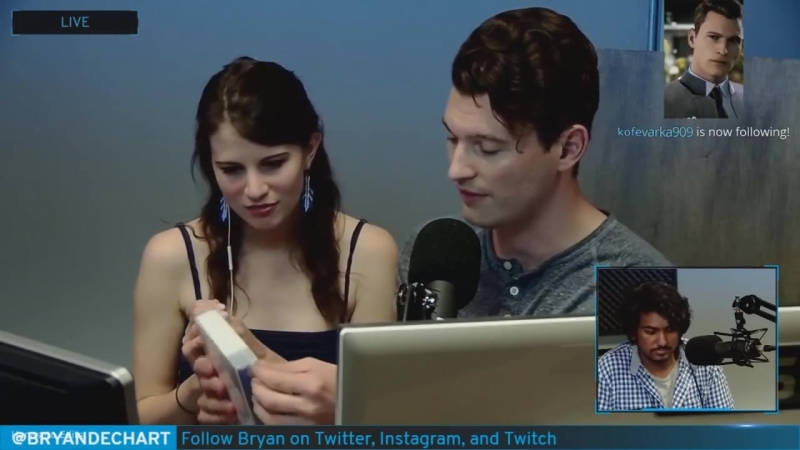 CRABB - Bryan Dechart Stream Funny_Cute Moments Compilation
