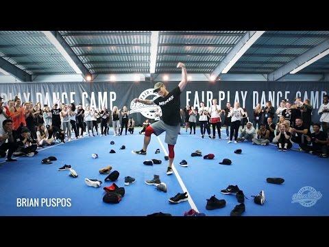 ★Brian Puspos ★ Hit Me ★ Fair Play Dance Camp 2016 ★
