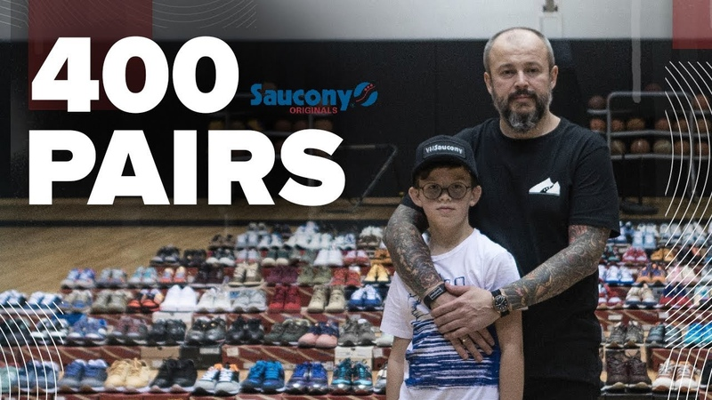 Самая большая коллекция Saucony в мире. The World's biggest Saucony collection.