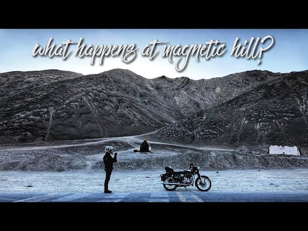 What happens at magnetic hill Day2 Ladakh trip