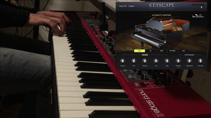 Many Rivers To Cross Spectrasonics Keyscape Little Demo of the C7 Grand Piano