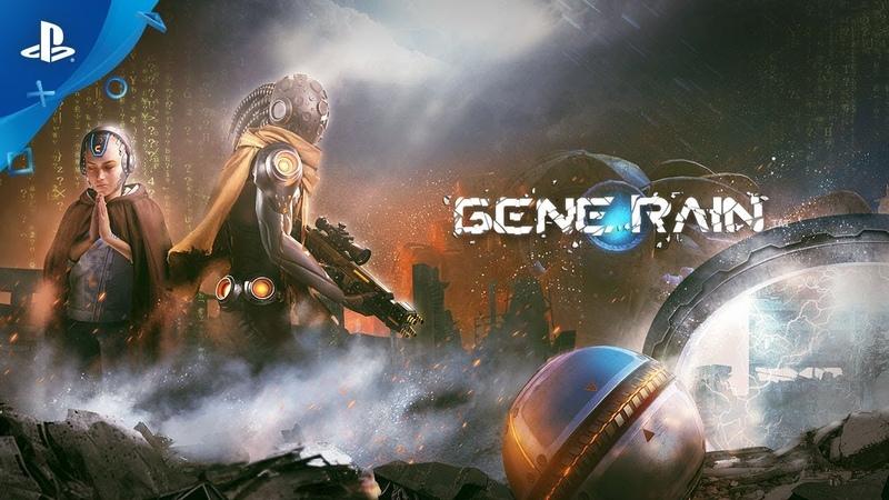 В трейлере шутера Gene Rain для PS4 девушка призывает к войне за выживание