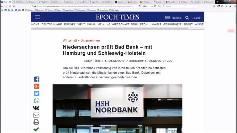 HSH Nordbank - Gewinne privatisieren Schulden verstaatlichen!.mp4