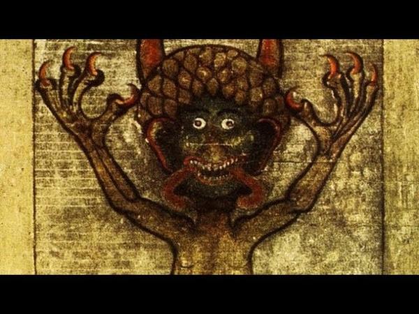 Изображение Дьявола в Codex Gigas Связь Сатаны с евреями и технологиями