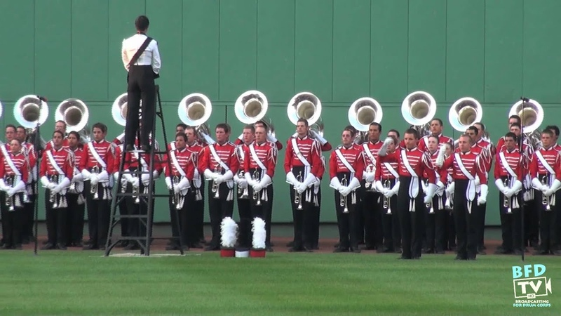 The Boston Crusaders @ Fenway Park National Anthem