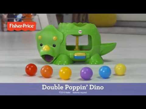 FISHER PRICE DHW03 Развивающая игрушка ДИНОЗАВР С ШАРИКАМИ от магазина ДЕТКИ