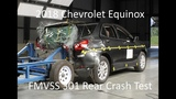 2018-2019 ChevroletHolden Equinox FMVSS 301 Rear Crash Test (50 Mph)