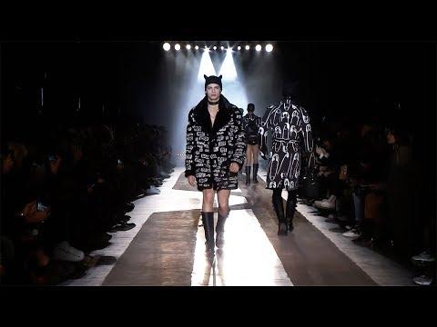 Moschino F W18 Menswear and Women's pre collection fashion show