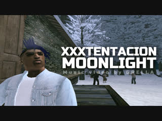 XXXTENTACION - MOONLIGHT (Music Video) [GTA SA:MP]