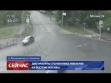 Две машины столкнулись лоб в лоб на востоке Москвы - Москва 24
