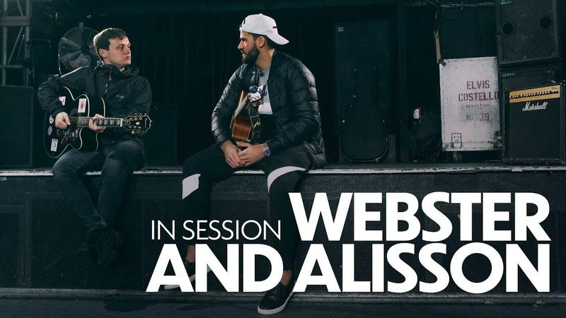 In session Alisson Becker and Jamie Webster | Keeper sings 'Allez, Allez, Allez