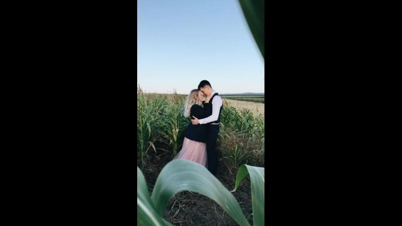 Съемка в поле