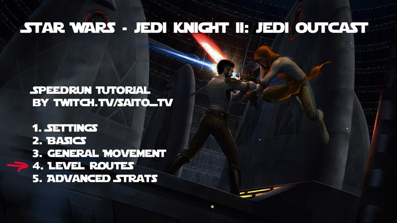 Jedi Outcast Speedrun Tutorial Part 17: map bespin_platform