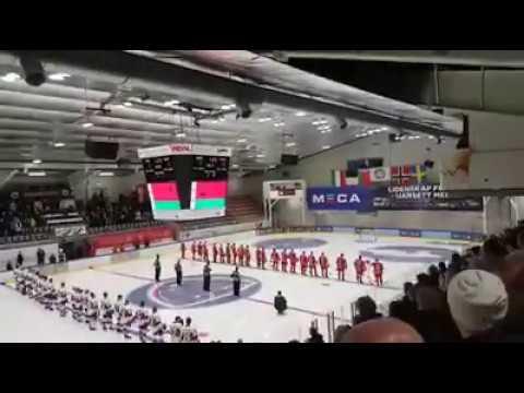На хоккейном матче в Норвегии завели в качестве гимна Белоруссии песню Песняров