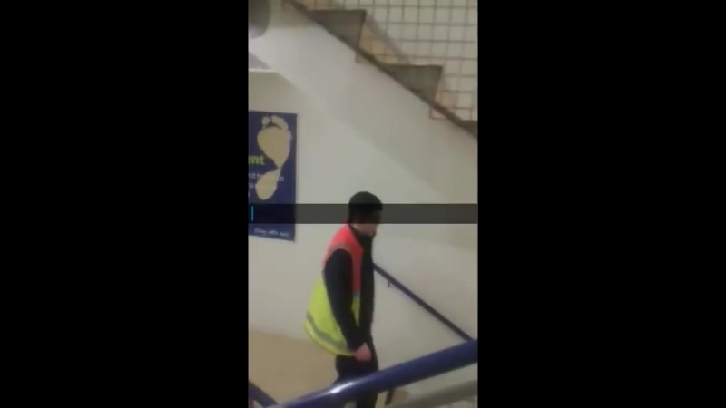 Irish Tesco worker does an excellent impersonation of a church service