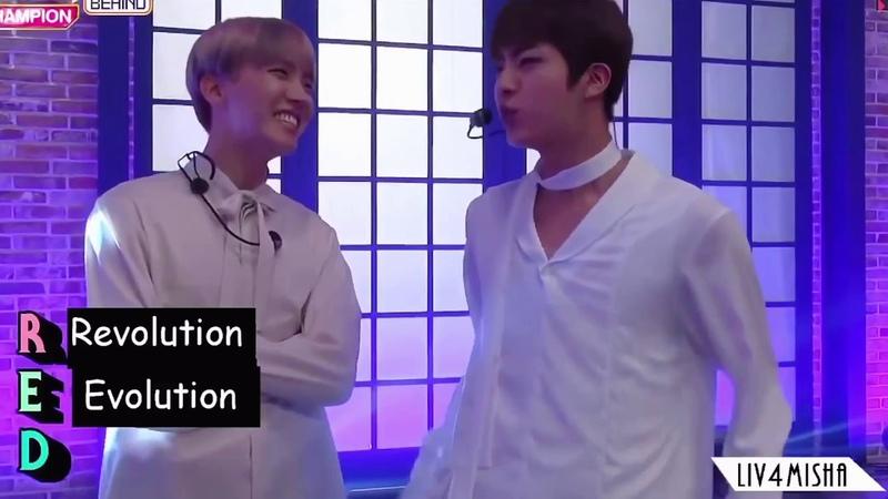[BTS] RED Jin acrostic poem