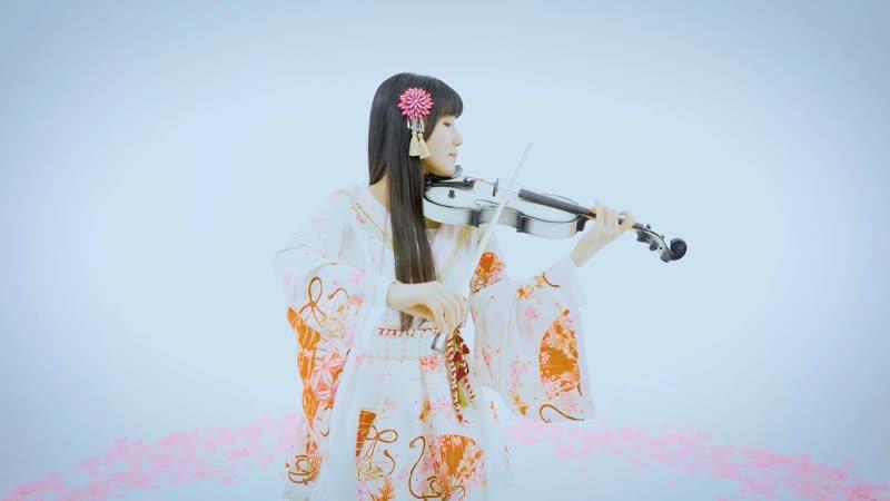 千本桜をヴァイオリン演奏しながら踊ってみた歌ってみた【オリジナル振付】 sm34436767