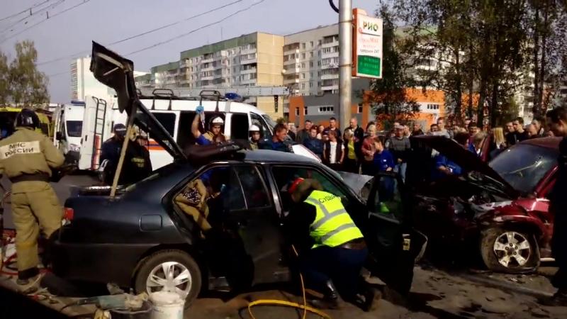 Авария в Суховке с пострадавшими