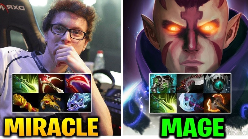 MIRACLE vs MAGE NO[O]NE: THROW OR COMEBACK Dota 2 7.17