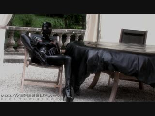 2013 Evas Outdoor Nipple Clamp Wank Part 01 Rubbereva, Rubber Eva, BDSM, Torture, Fisting, Prolapse, Bondage, Sadism, Fetish