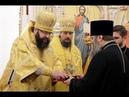 В Георгиевском соборе города Ярцево состоялось богослужение архиерейским чином
